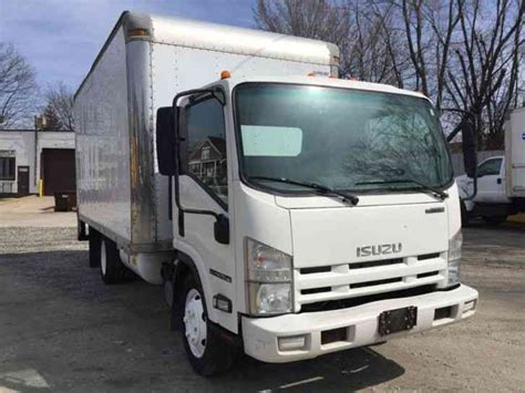 isuzu npr hd 2009 box trucks