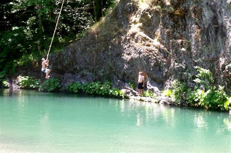 river swing the best swimming holes in humboldt county california