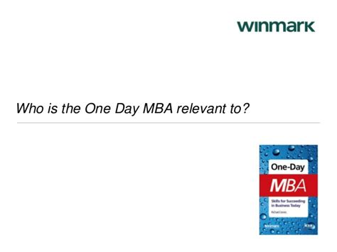 One Day To Mba Ncsu by One Day Mba 2014 By Winmark Professional Learning And