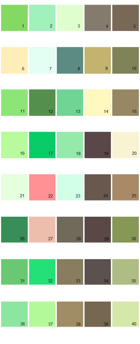 pratt and lambert paint colors palette 09 house paint colors