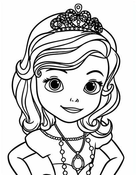 sofia coloring pages pdf princess sofia coloring page coloring home