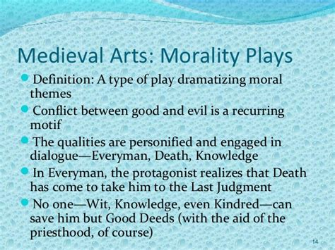 theme definition moral medieval arts architecture andl literature