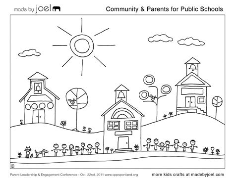 Community Coloring Pages made by joel 187 community parents for schools
