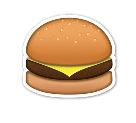 emoji burger which emoji meal should you eat just love love love