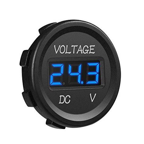 Voltmeter Waterproof Dc mictuning dc 12v led digital display voltmeter waterproof for boat marine vehicle motorcycle