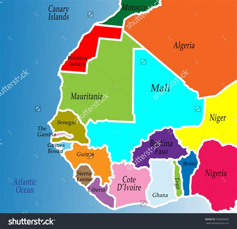 west africa map images upturn in west africa consumer confidence levels 789marketing