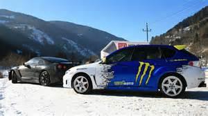 Subaru Wrx Snow Mountains Snow Cars Vehicles Wheels Subaru Impreza Wrx Sti
