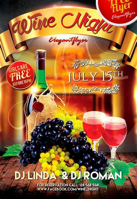 7 Hot Free Barbecue Bbq Flyers Templates Utemplates Free Wine Flyer Template