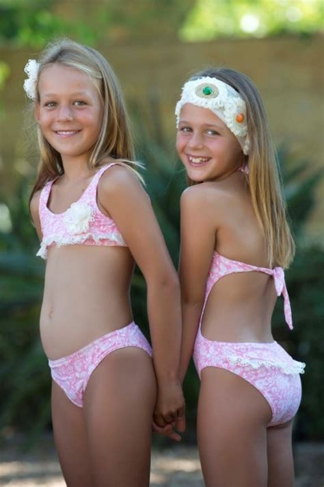 preteen mound bikini trikini swimsuits pinterest swimwear teen