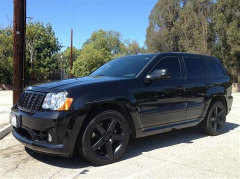 jeep srt8 for sale los angeles sell used 2008 jeep grand srt8 in los angeles