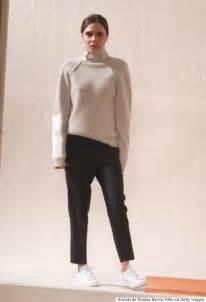 Victoria beckham autumn 2016 nyfw show corsets flats and sleek