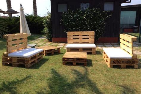 divano fai da te divano con pallet idee fai da te per il giardino e il