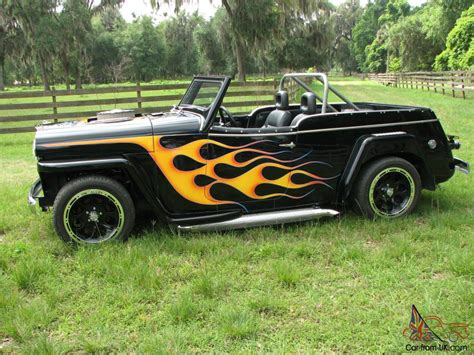 1948 Custom Willys Overland Jeepster Street Rod
