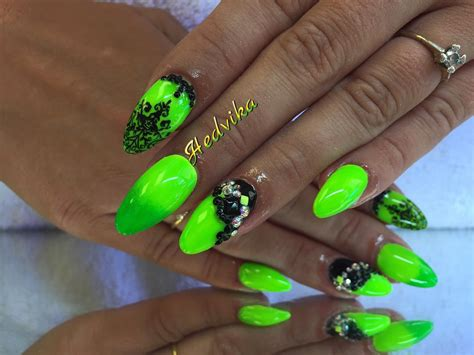 Neon Nail by 20 Neon Nail Designs For A Burst Of Bright Colors Easy