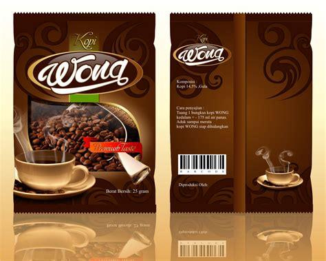 desain kemasan kopi galeri desain kemasan untuk kopi wong