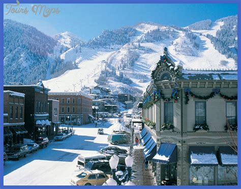 best winter vacation in usa map travel holiday