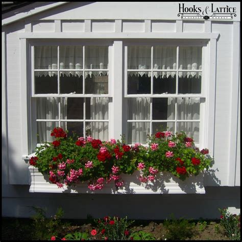 vinyl window box 30 quot royal vinyl window box non standard size