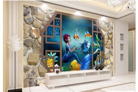 3d mural online get cheap paper aquarium aliexpress com alibaba