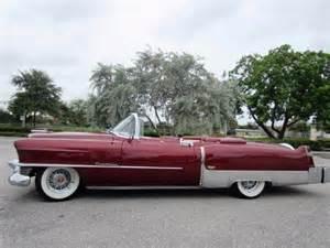 1954 Cadillac Eldorado Convertible 1954 Cadillac El Dorado Convertible Coupe For Sale Photos