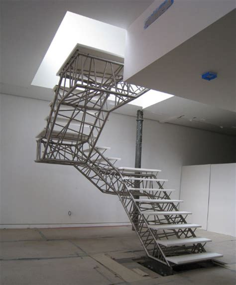 Metal Stairs Design 3d Industrial Design Metal Glass Staircase