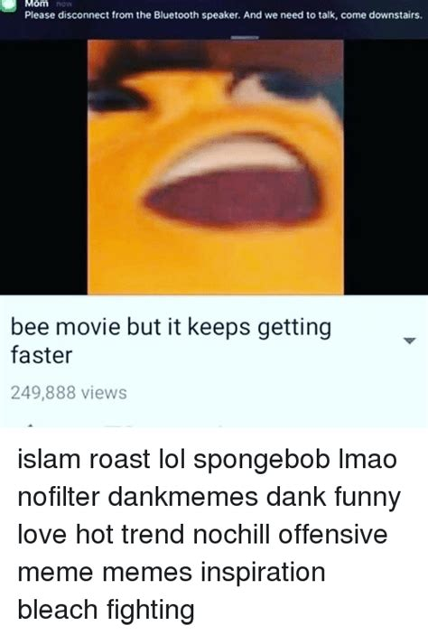 Bluetooth Meme - funny bee movie but it keeps getting faster memes of 2017