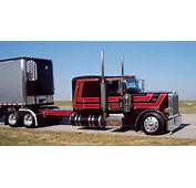 Custom Black Peterbilt Http//wwwtenfourmagazinecom/Clints/2008/6