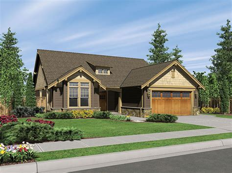 house plans and more longhurst craftsman ranch home plan 011d 0222 house