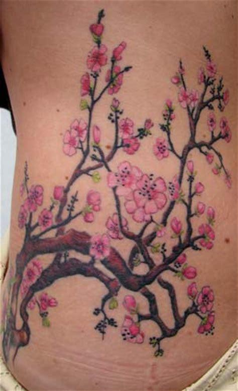 Cherry Blossom Branches By Kim Reed Tattoonow Cherry Blossom Tree Tattoos 2