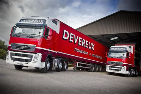new volvo tractor trucks volvo trucks delivers six tractor units to devereux