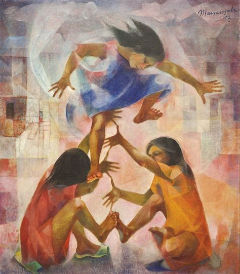 biography of filipino artist and their works vicente silva manansala the philippines 1910 1981