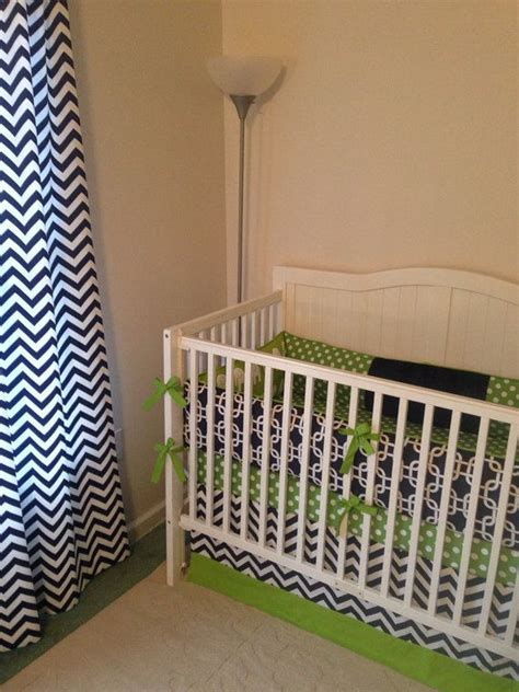 navy and green crib bedding modern navy and green crib bedding set for babies pinterest chevron crib