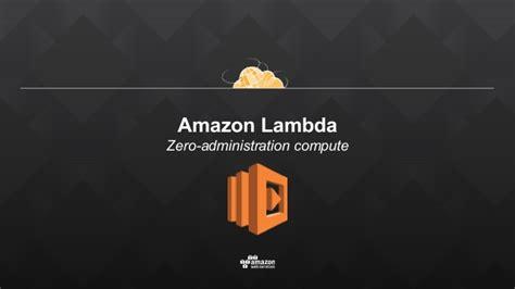 amazon lambda mobile apps and iot aws lambda