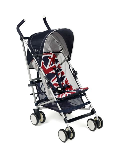 Stroller Silver Cross New Reflex Cool Britannia silver cross