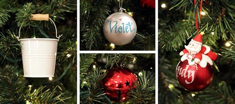 bright tree decorations merry and bright theme the cart