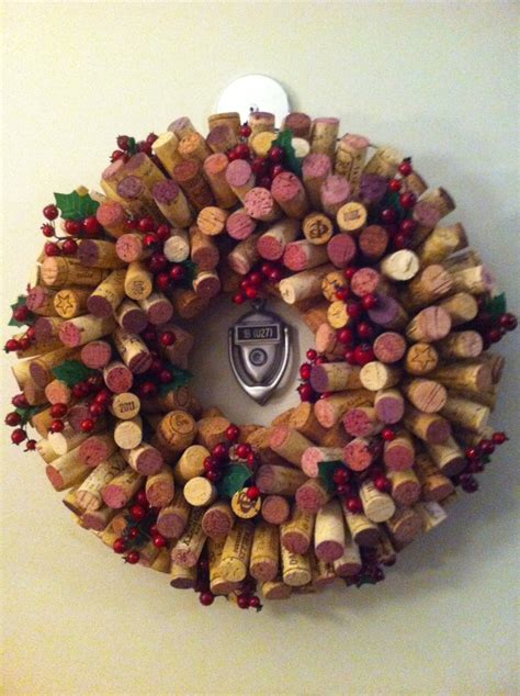 wine cork wreath finished projects wreaths wreaths and wine