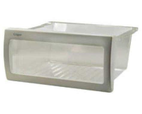kitchenaid refrigerator crisper drawer replacement kitchenaid krfc90100b0 crisper drawer bin genuine oem