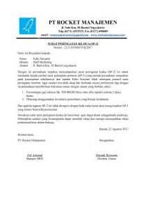 contoh surat peringatan 2 dari sebuah instansi