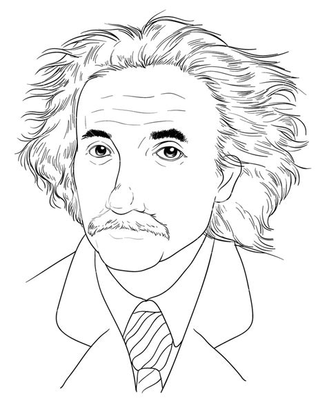 biography sketch of albert einstein sketch of albert einstein royalty free stock image