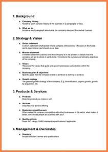5 company description template company letterhead