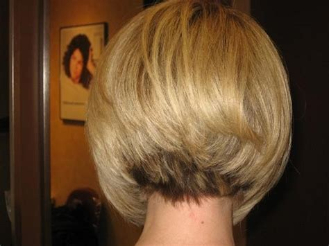 what does a inverted bob look like from the back of the head short hair style back view this is what the back of my