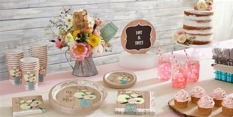city bridal shower paper goods rustic wedding supplies bridal shower themes