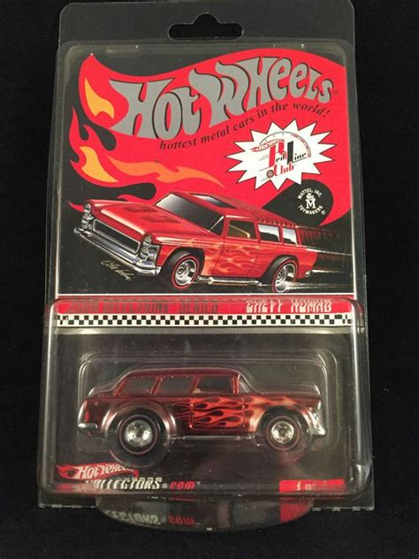 Hotwheels Nomad 2004 wheels redline club rlc selections chevy nomad real riders protecto hotwheels