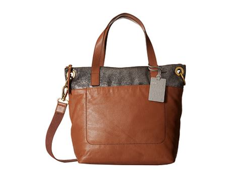 Fossil Tote Black Multi fossil keely tote brown multi 6pm