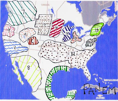 hunger games map themes hunger games lesson plans worksheets and handouts
