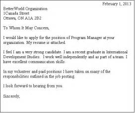 Cover Letter No Posting by Sle Cover Letter Position Delivery Docket