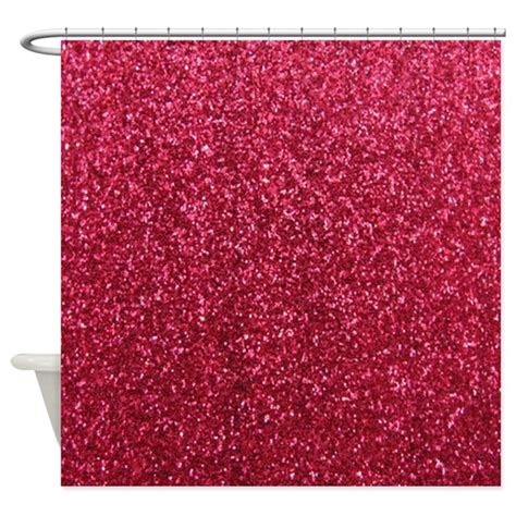 glitter shower curtain uk red faux glitter texture shower curtain matte by