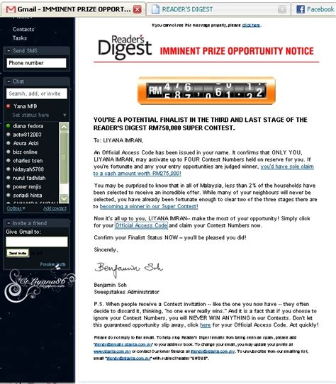 email yahoo tiba tiba hilang spam email mungkin akan menyebabkan anda hilang duit dalam