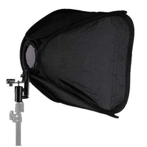 easy light soft box 60cm x 60cm for flashlight and studio