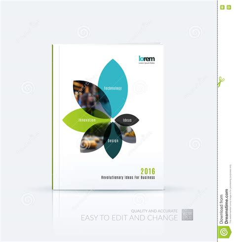 cover design nature brochure template layout collection cover design annual