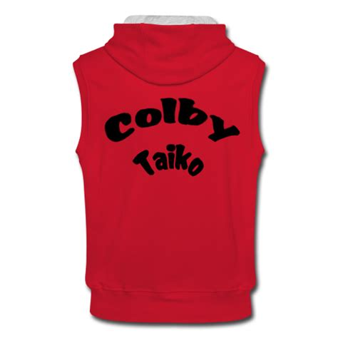 sleeveless hoodie design your own colby taiko men s sleeveless hoodie